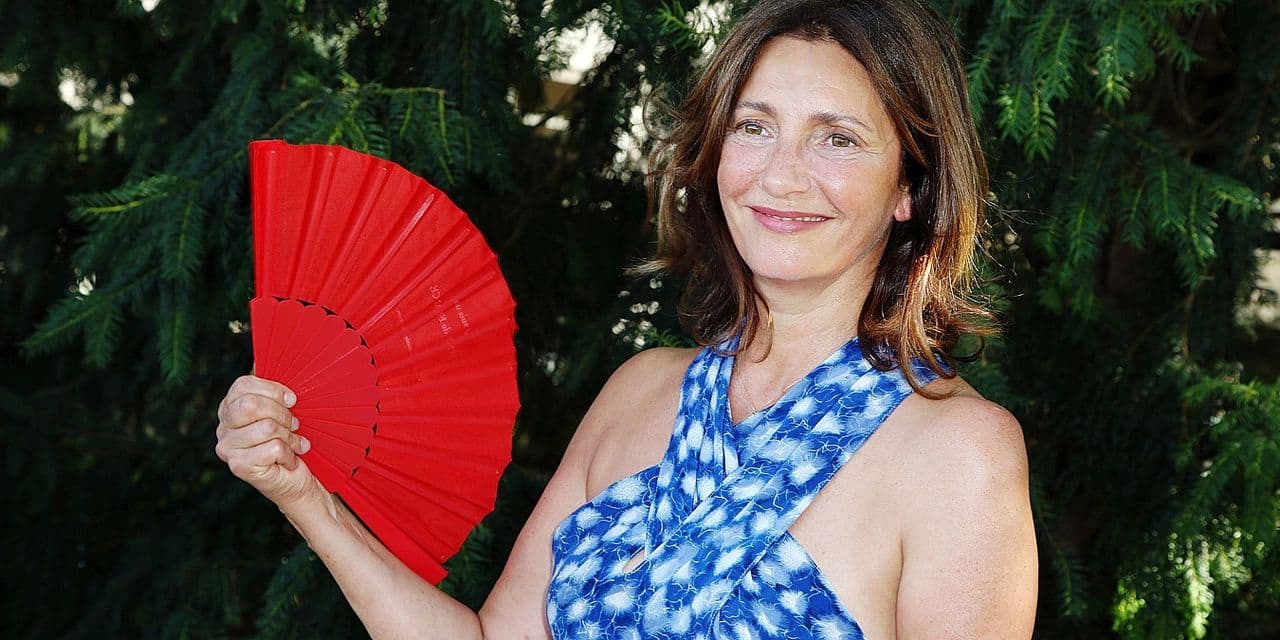 Valerie Karsenti seen at the Le Poulain photocall as part of the 11th Angouleme Film Festival in Angouleme, France on August 22, 2018. Photo by Jerome Domine/ABACAPRESS.COM Reporters / Abaca