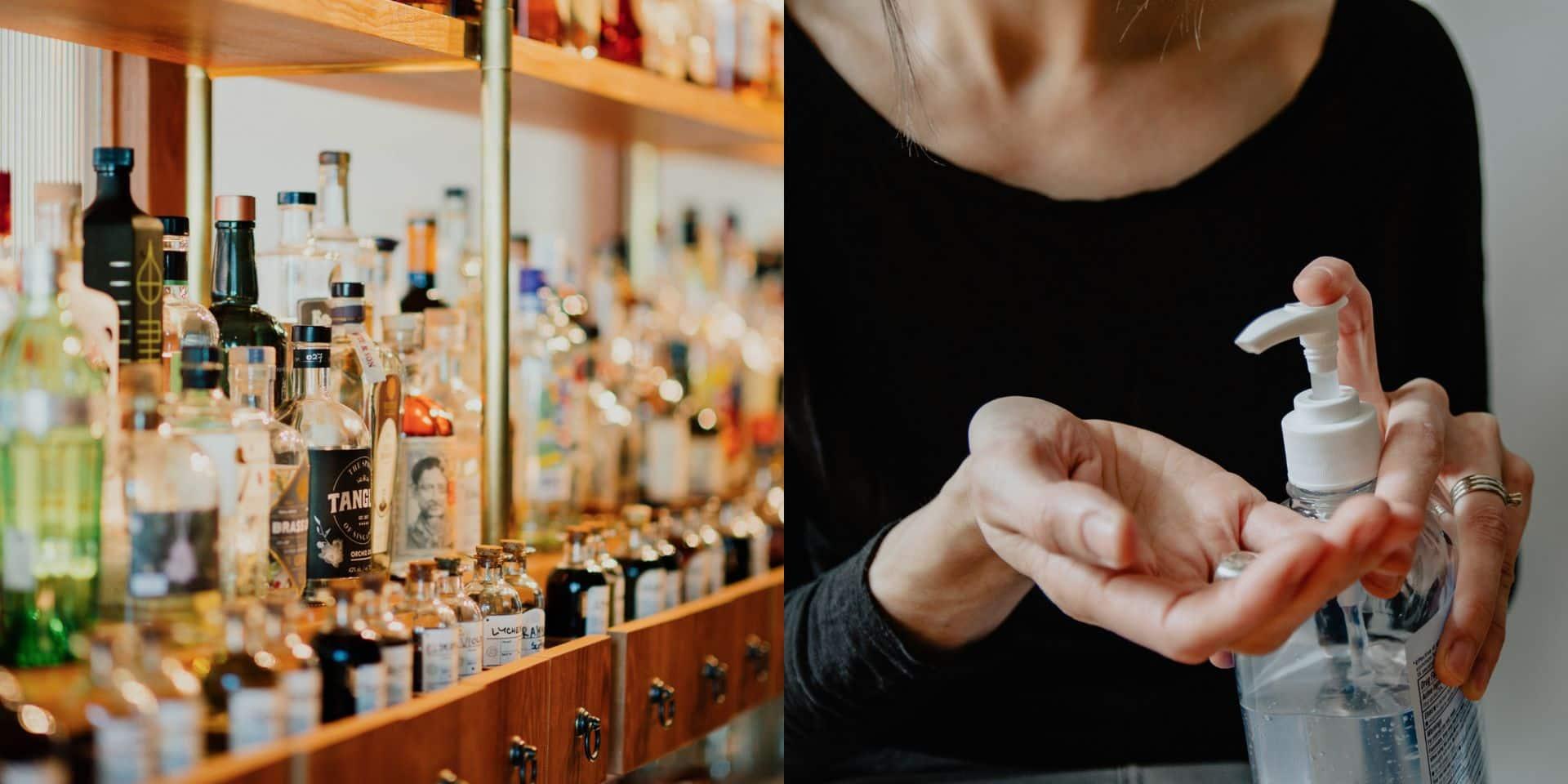 Coronavirus: les producteurs d'alcool se mobilisent face à la pénurie de gel hydroalcoolique