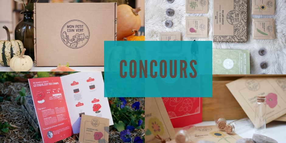 Remportez votre abonnement de 3 mois à la box jardinage: Mon Petit Coin Vert