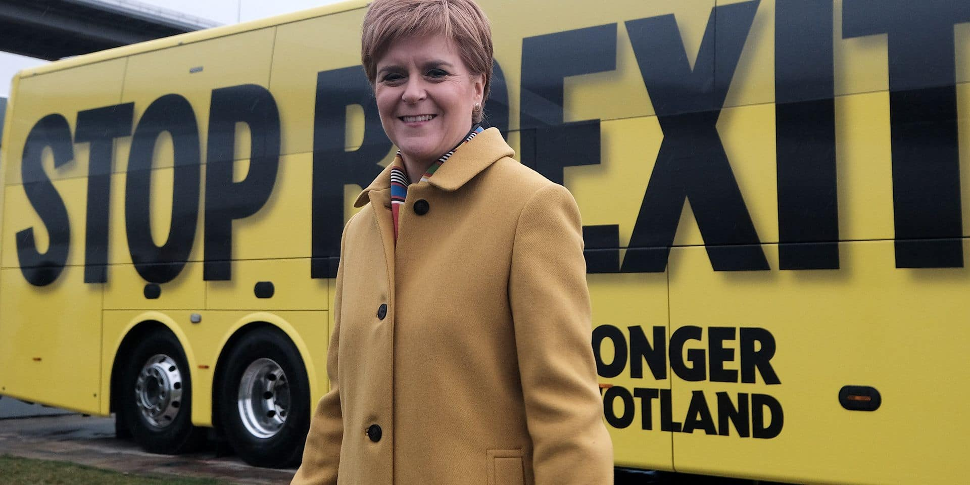 Nicola Sturgeon in South Queensferry, Thursday 5th December 2019