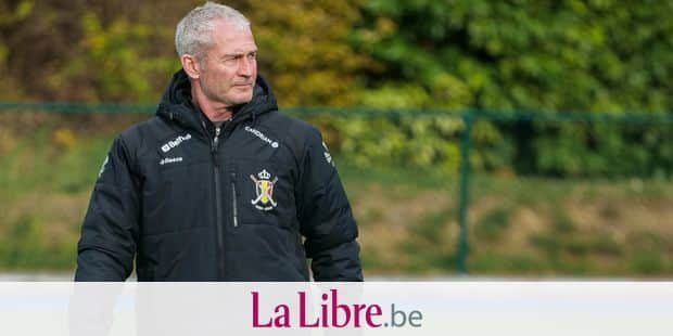 Belgium's head coach Shane McLeod pictured during a training session, ahead of a press conference of the Red Lions Belgian national hockey team on the selection for the upcoming World Cup, which will be played in India, Wednesday 07 November 2018 in Brussels. BELGA PHOTO SEBASTIEN TECHY