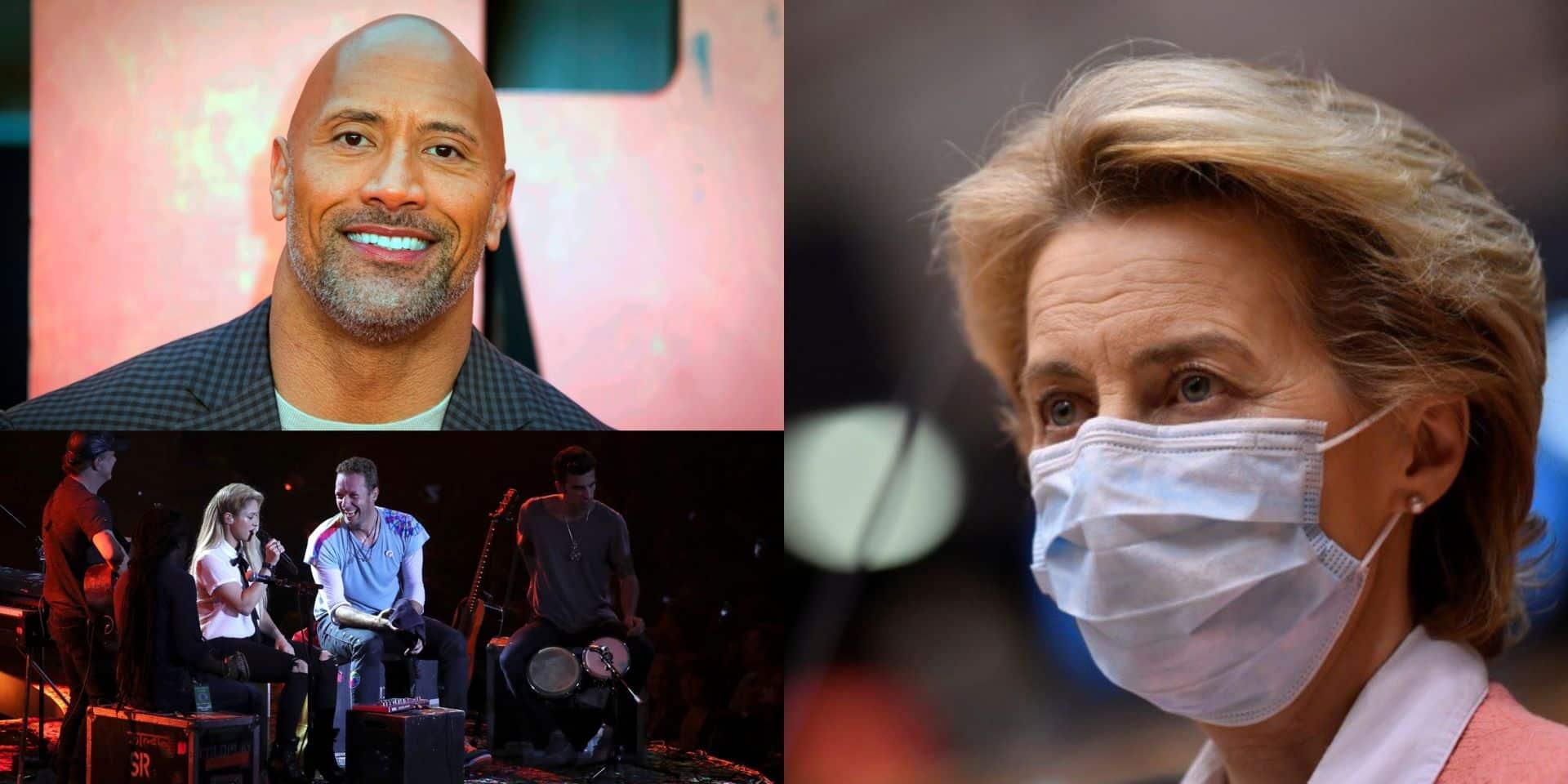 Vaccin contre le Covid-19: Coldplay, Miley Cyrus, Dwayne Johnson et d'autres stars aident l'UE à collecter des fonds