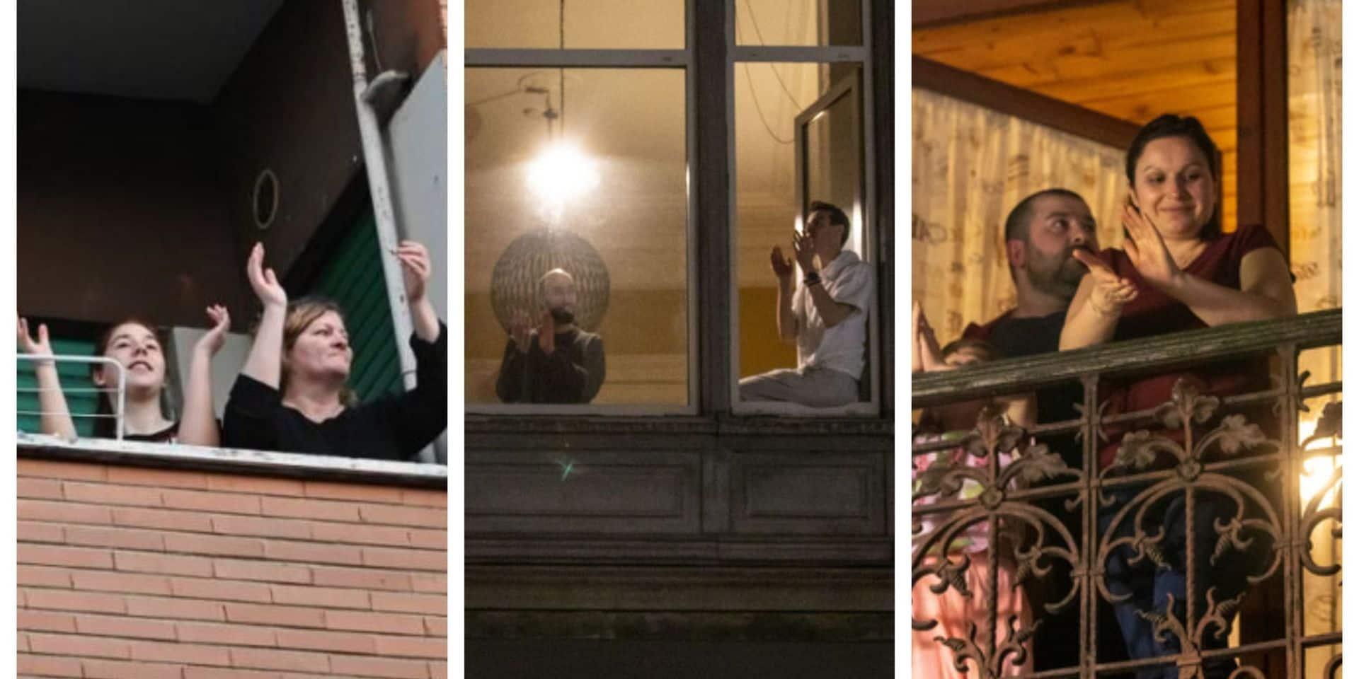 D. est frappé par l'amnésie. Il a oublié qu'il y a quelques mois, il se postait tous les soirs sur son balcon pour applaudir les acteurs du monde hospitalier