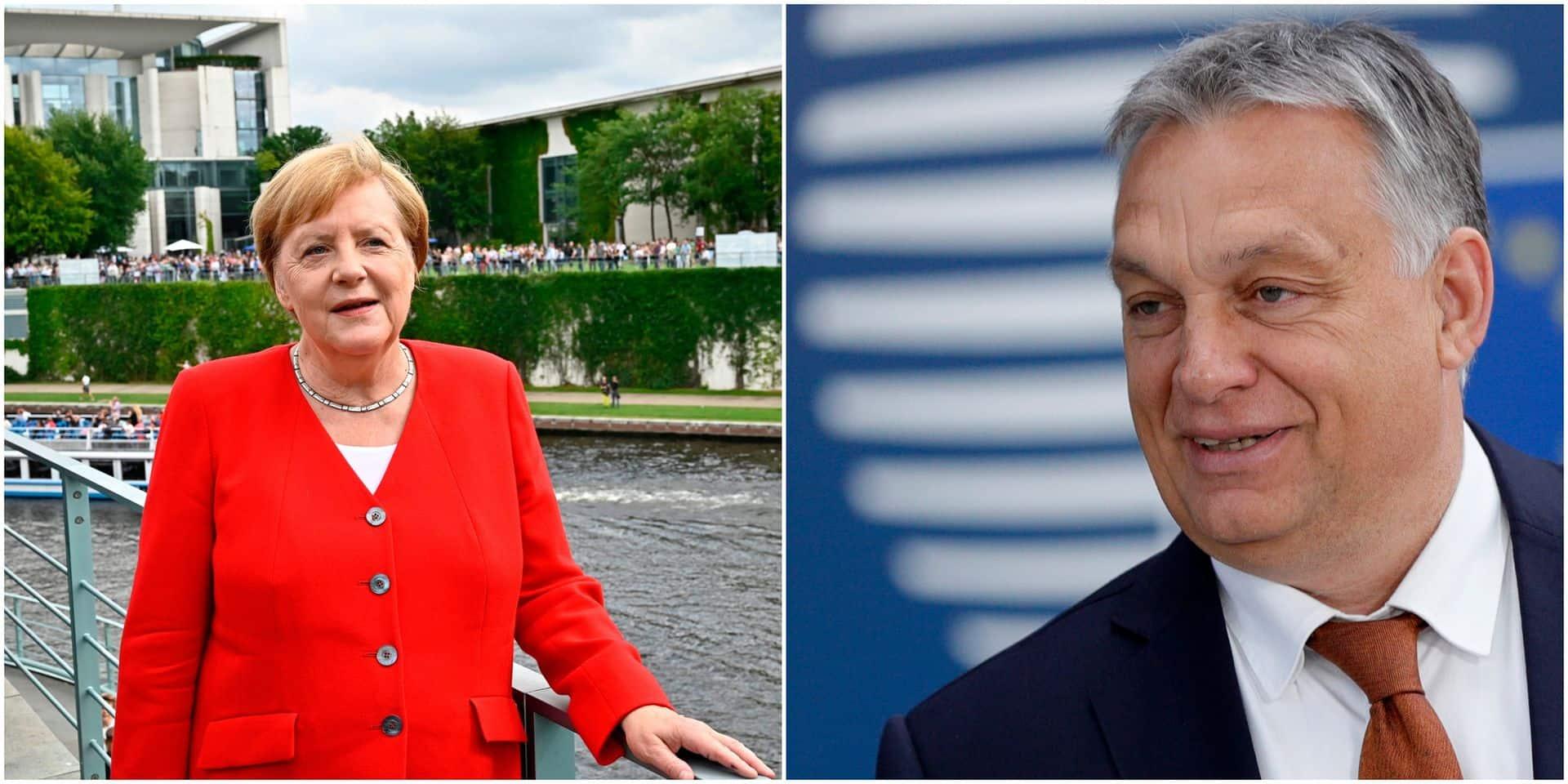 Merkel invitée d'Orban pour commémorer la fin du Rideau de fer