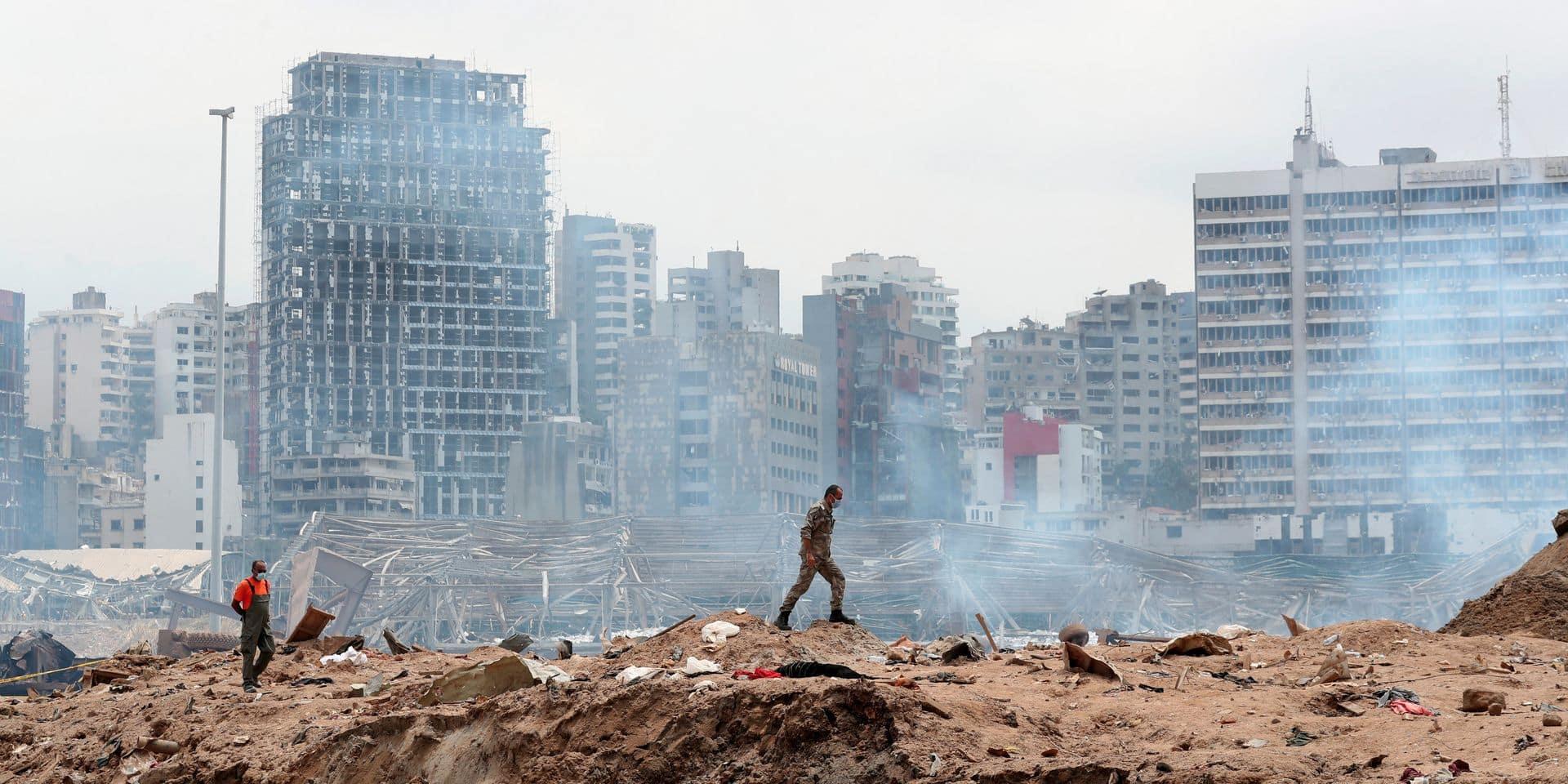 Explosions à Beyrouth: le matériel acheminé par la Belgique est bien arrivé