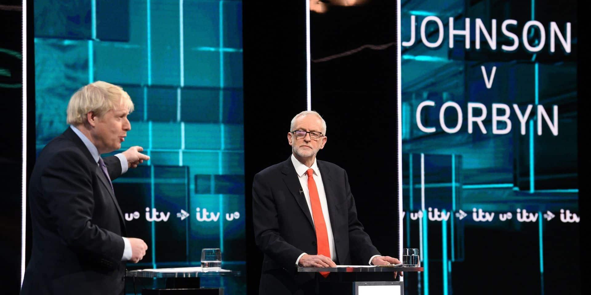 Royaume-Uni: Corbyn ne désespère pas de refaire son retard sur Johnson