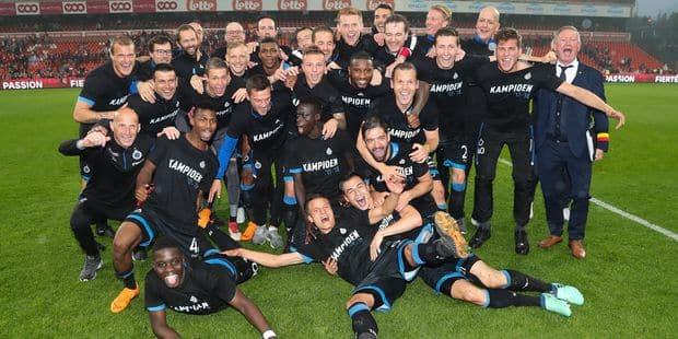Bruges champion de Belgique suite à son nul au Standard, l'arbitrage pointé du doigt - La Libre
