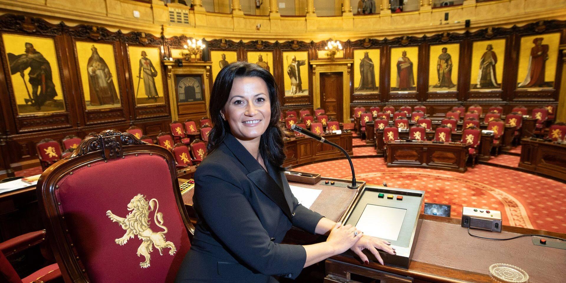 Stephanie D'Hose (Open VLD) devient officiellement présidente du Sénat