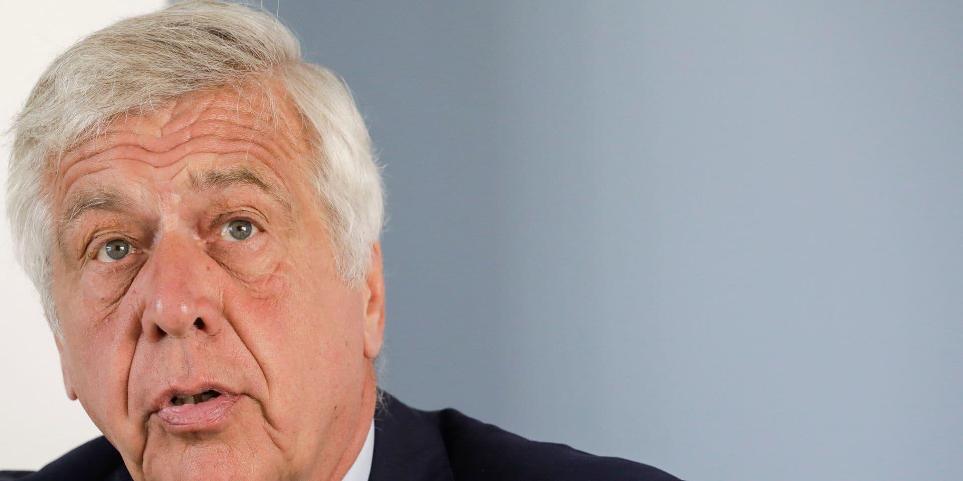 François Cornelis a été nommé CEO ad interim de bpost, le temps de trouver un nouveau CEO.
