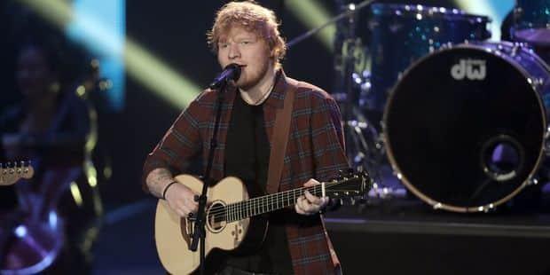 Ed Sheeran a son équipe favorite pour le Mondial... - La Libre