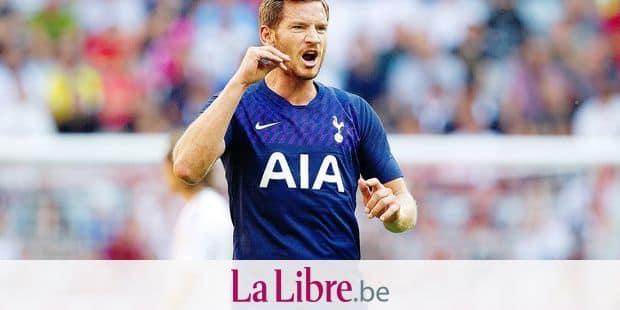 Jan Bert Lieve VERTONGHEN (# 5, TOT). Soccer, Real Madrid (REAL) - Tottenham Hotspur (TOT), Audi Cup 2019, Semifinals, on 07/30/2019 in Muenchen / ALLIANZARENA / Germany. ¬   usage worldwide Reporters / DPA