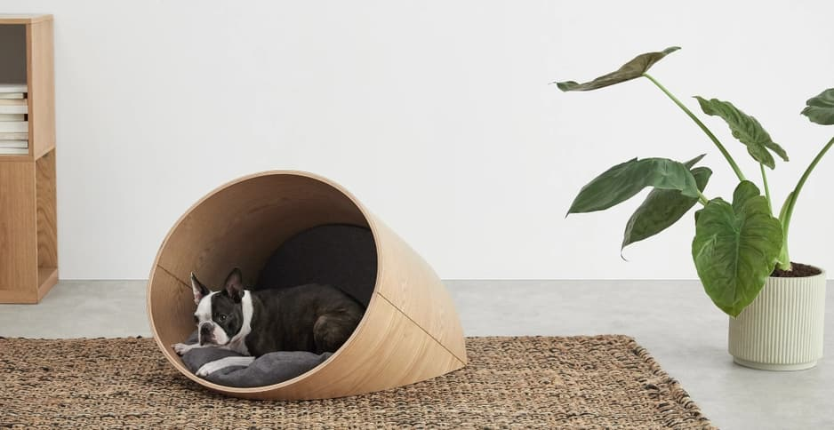 Panier pour chiens, Made, 179€.