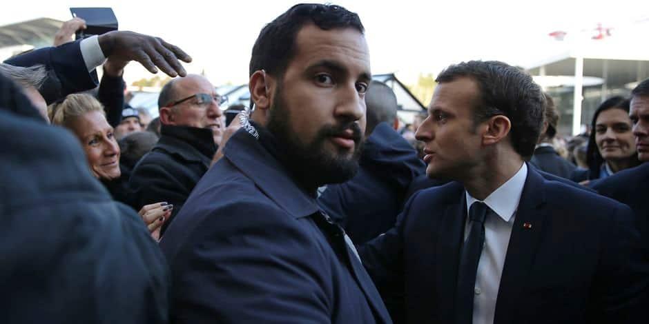 Affaire Benalla: Macron bouscule Larcher au téléphone