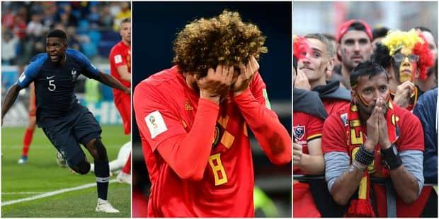 Coupe du monde: la France brise le rêve de la Belgique et se qualifie pour la finale (1-0) - La Libre
