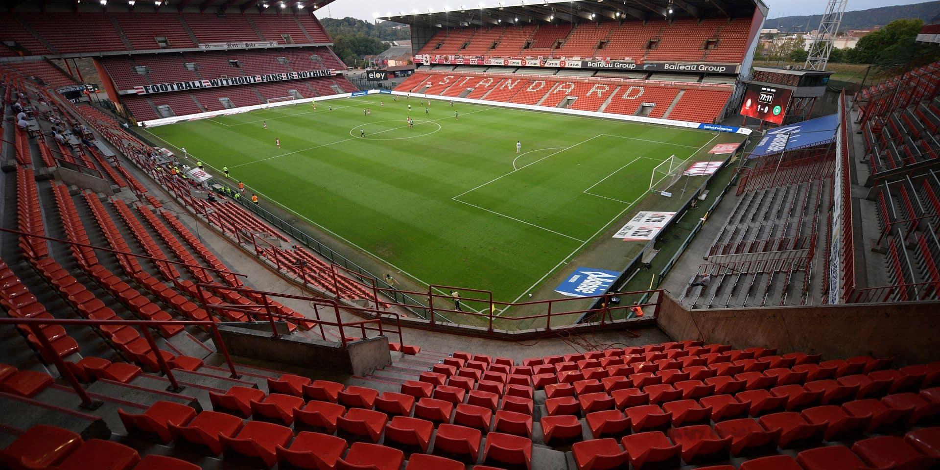 Les matches à huis clos, un manque à gagner de 400.000 € pour le Standard