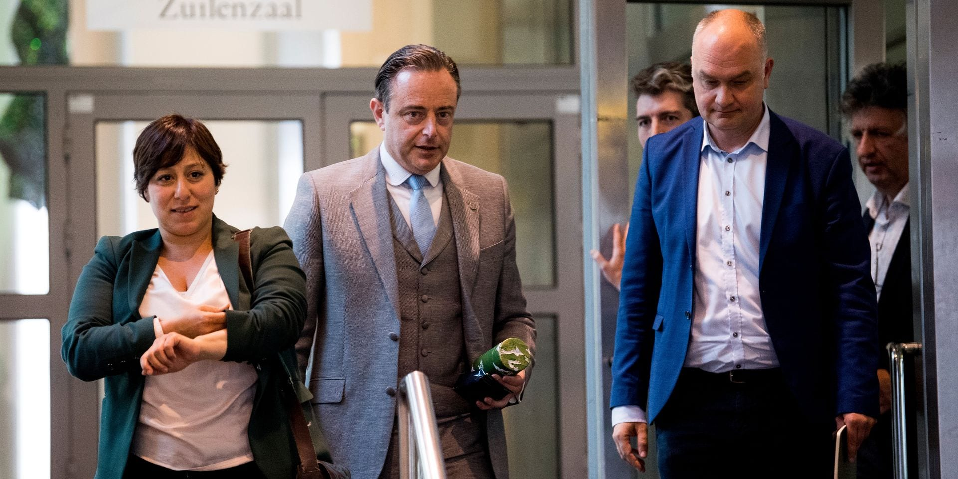 """Groen tend la main à la N-VA: """"Je trouverais cela très étrange que De Wever forme un gouvernement flamand sans vainqueur"""""""