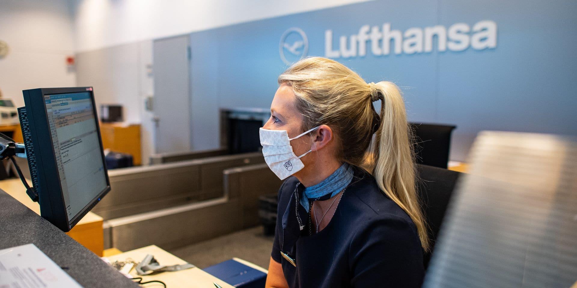 """Perte nette de 2,1 milliards d'euros pour Lufthansa, 93 millions pour Brussels airlines : Une restructuration en cours d'""""intensification"""""""