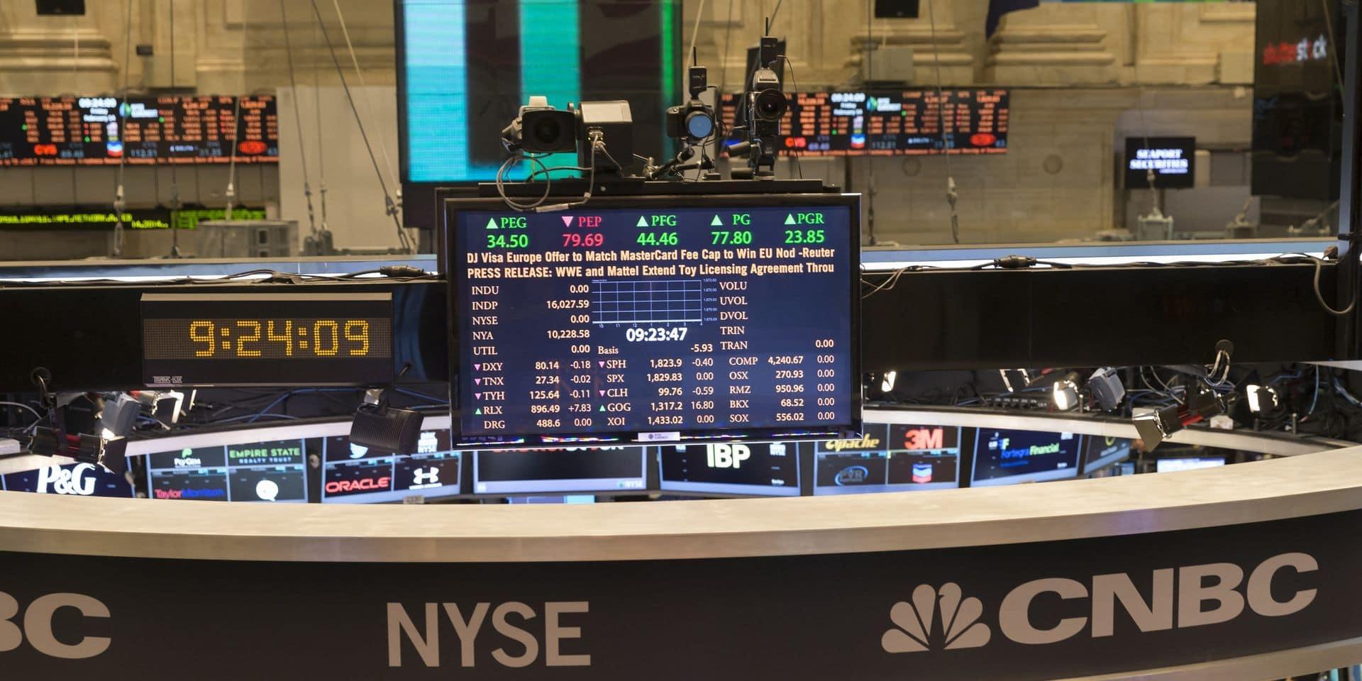 La Bourse de New York augmente, portée par de solides résultats d'entreprises