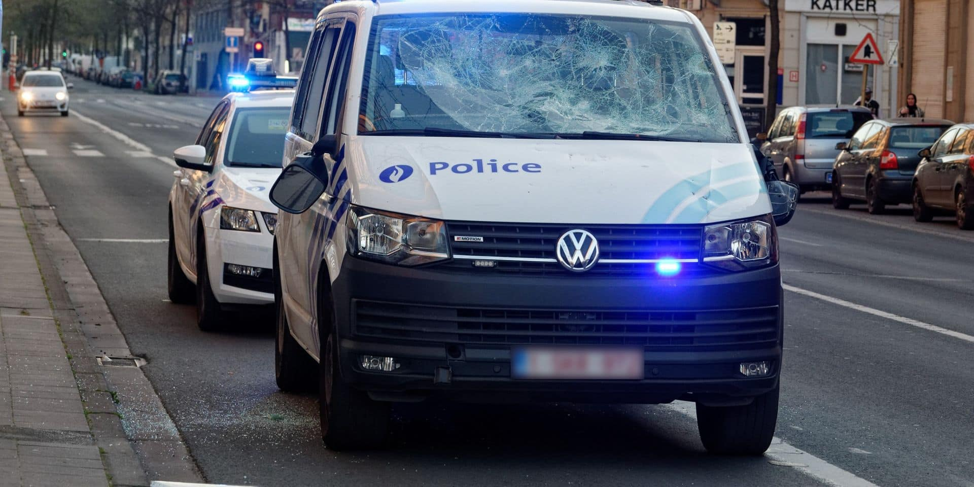 Violences contre des policiers à Anderlecht: de nouvelles images diffusées