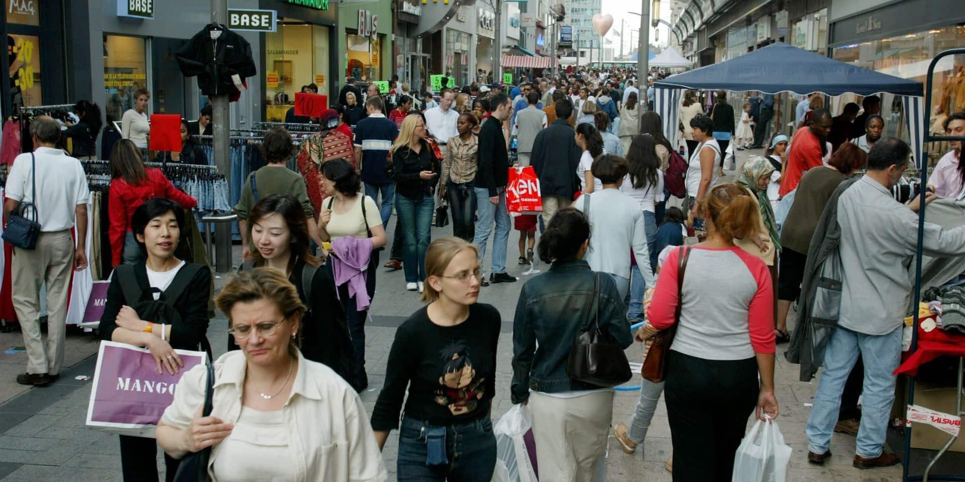 La population bruxelloise a énormément rajeuni en trente ans (INFOGRAPHIE)