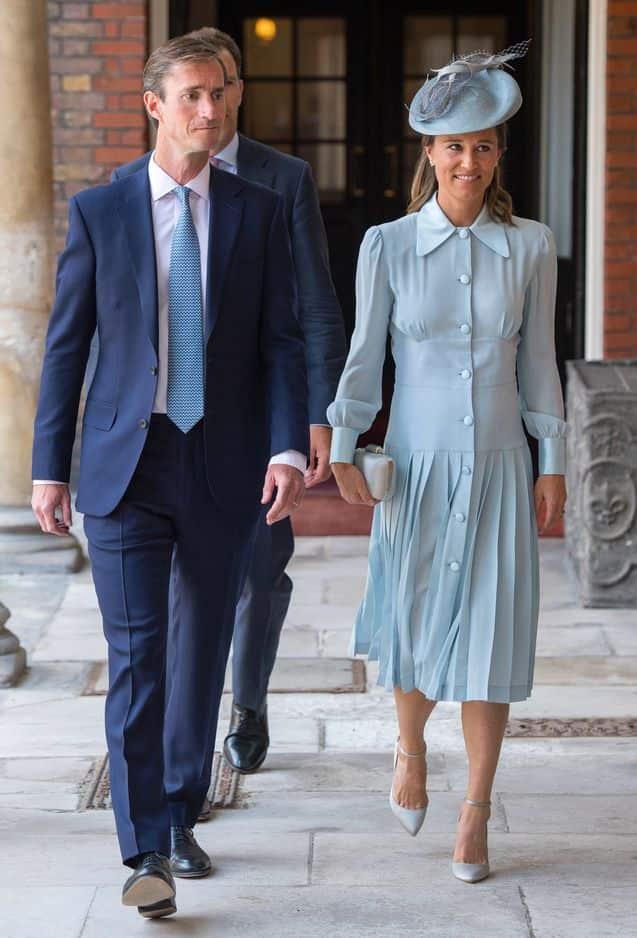 Pippa Middleton et son mari, James Matthews