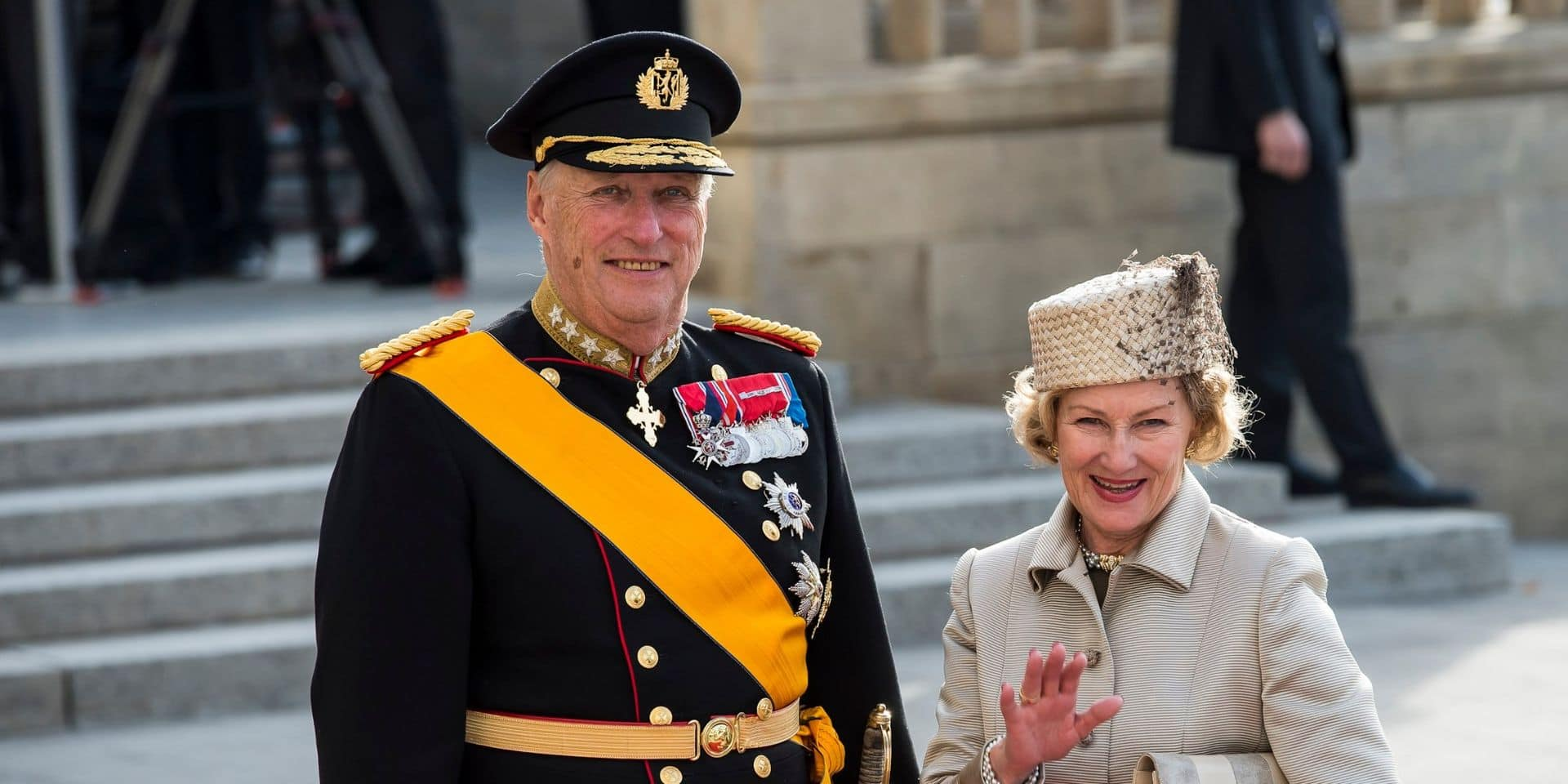 Le Roi de Norvège admis à l'hôpital
