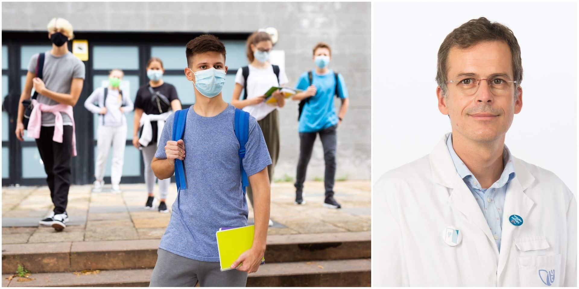 """""""Les grands adolescents ont un vrai rôle d'acteur à jouer dans la gestion de cette crise"""", alerte un pédiatre-infectiologue"""