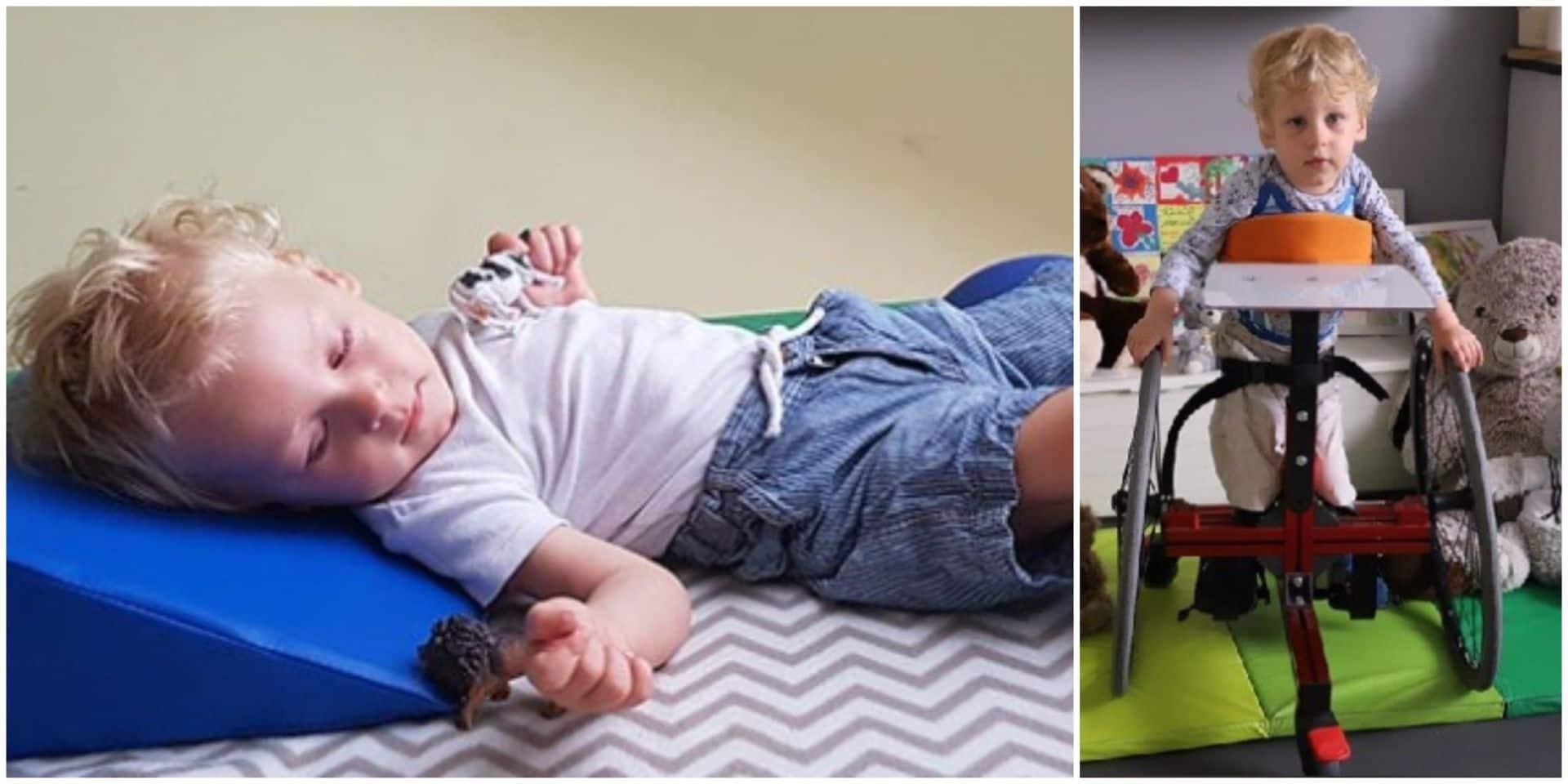 """L'appel à l'aide d'un couple de Rebecquois: """"Il ne reste que quelques semaines pour sauver la vie de Maciek, 2 ans"""""""
