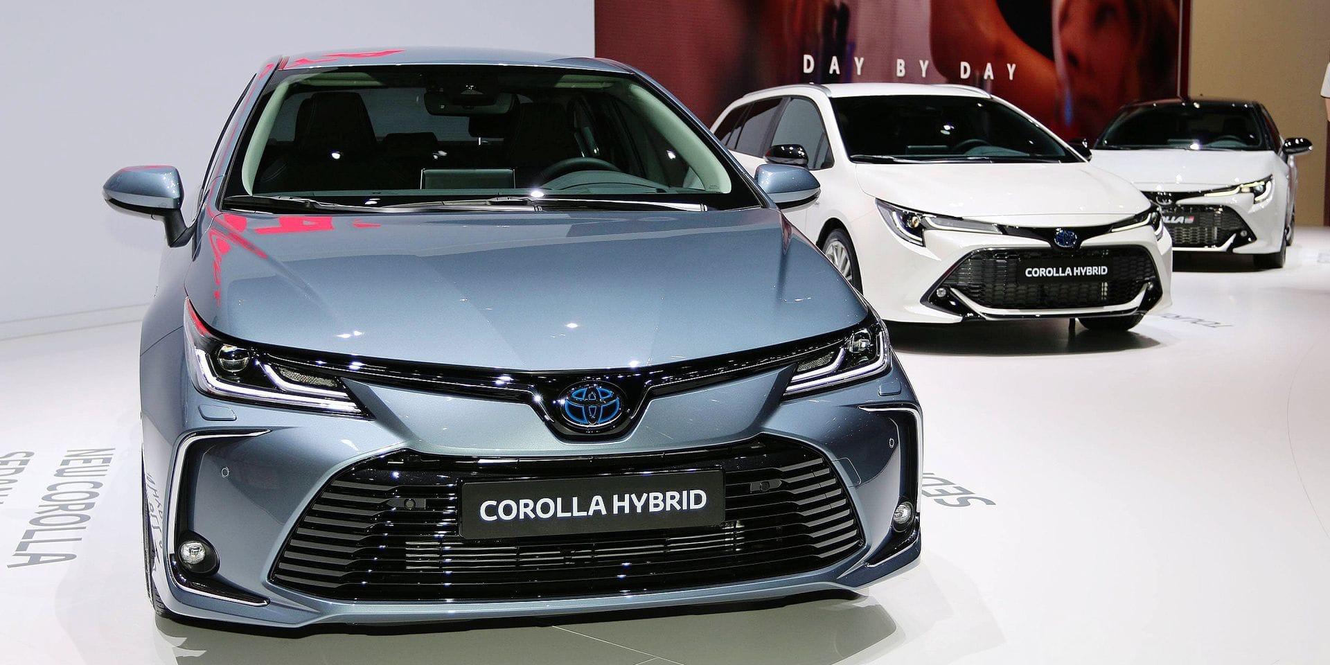 Toyota domine largement le marché des voitures auto-rechargeables en Belgique, plaçant 4 modèles au sein du top 5.