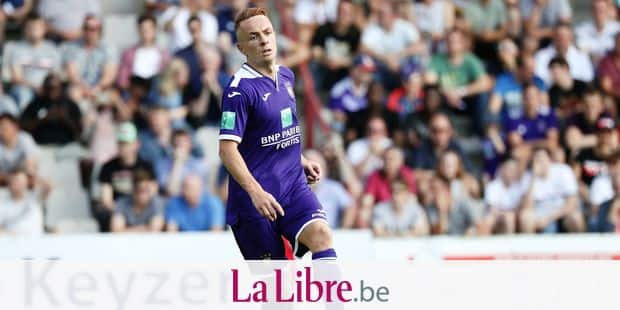 Anderlecht's Adrien Trebel pictured in action during a friendly game between RWDM and first league team RSC Anderlecht, Saturday 22 June 2019 in Brussels, in preparation of the upcoming 2019-2020 Jupiler Pro League season. BELGA PHOTO VIRGINIE LEFOUR
