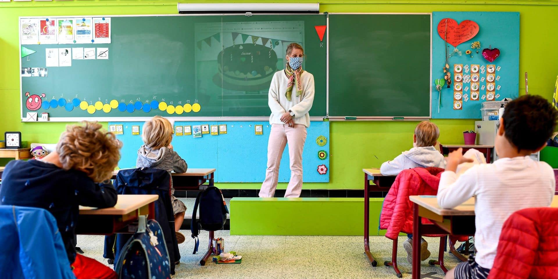 Coronavirus: situation stable dans les écoles par rapport à la semaine précédente