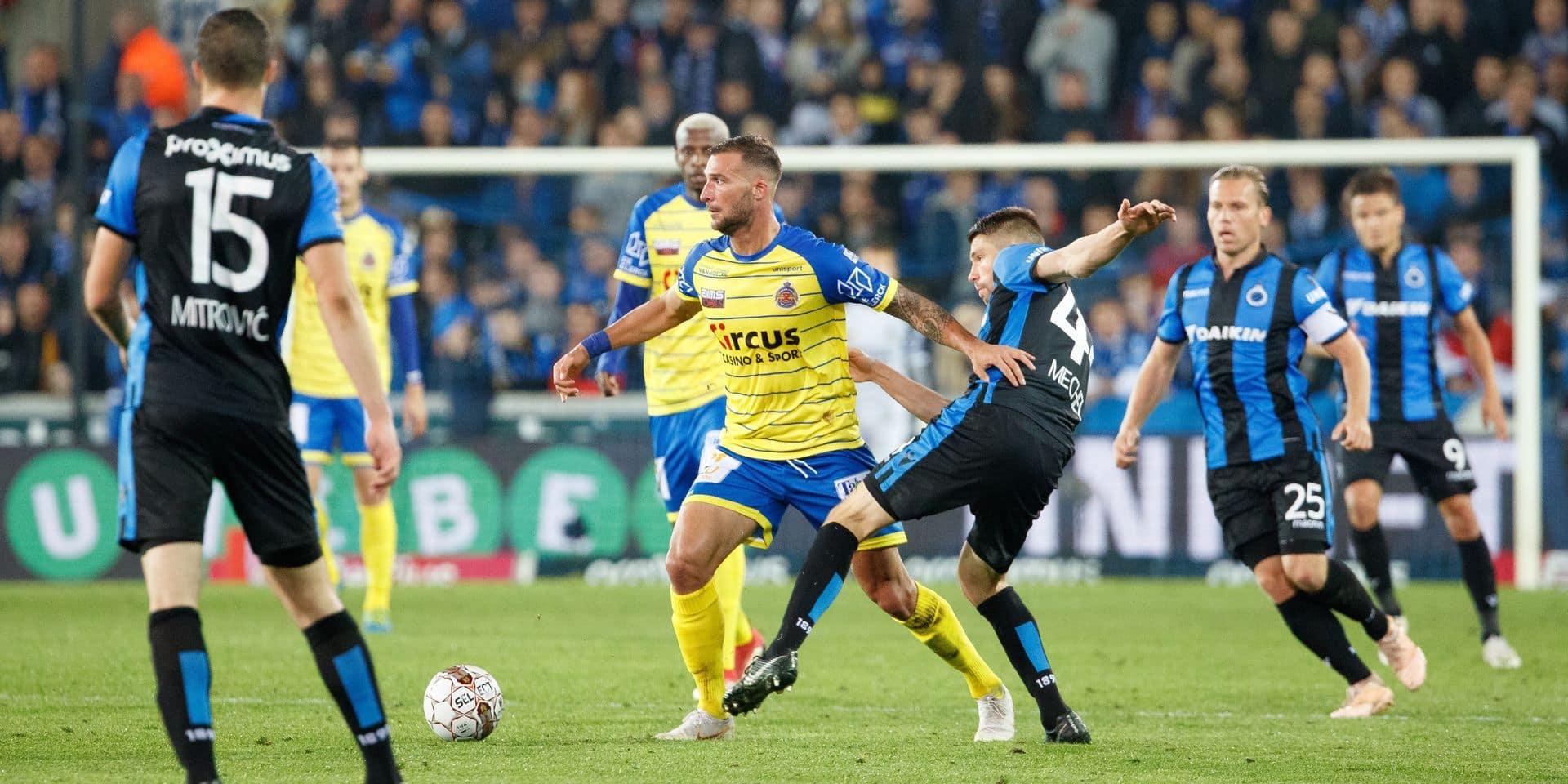 Bruges, accroché par Waasland-Beveren (1-1), laisse le champ libre à Genk