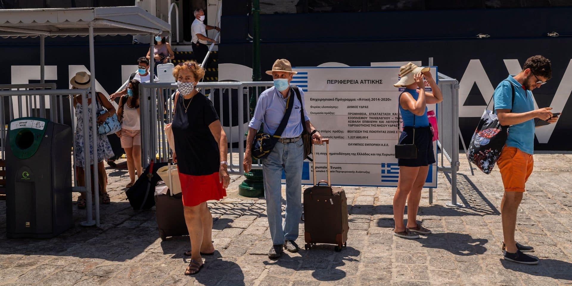 La Belgique modifie les conseils de voyage vers la Grèce