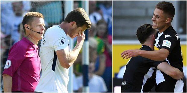 Belges à l'étranger: Thorgan Hazard buteur face à Fribourg, Vertonghen sort en boitant avec Tottenham (VIDEO) - La Libre