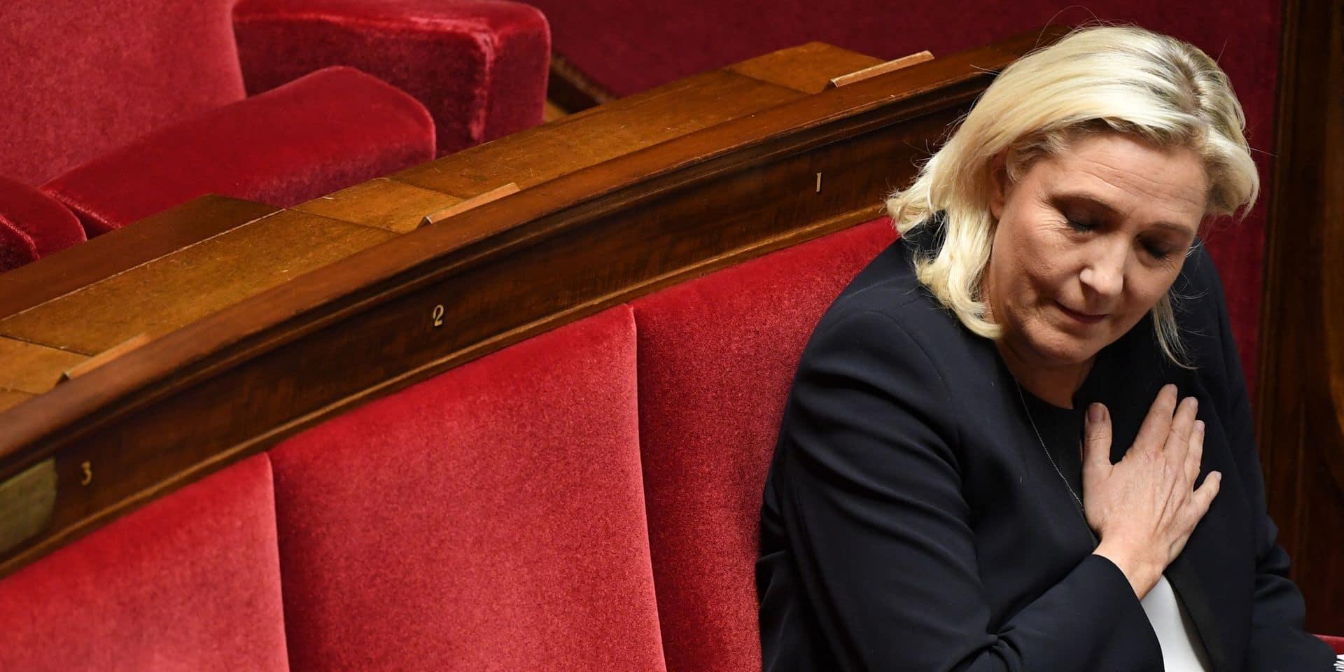 """Début du procès pour escroquerie pour le """"Front National"""" de Marine Le Pen"""