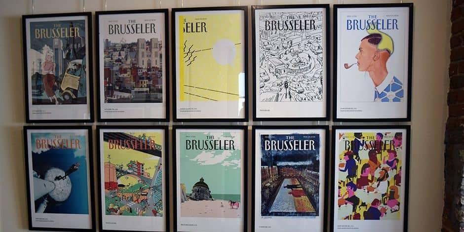 """""""The Brusseler"""" : Hommage à un magazine pour le plaisir des yeux"""