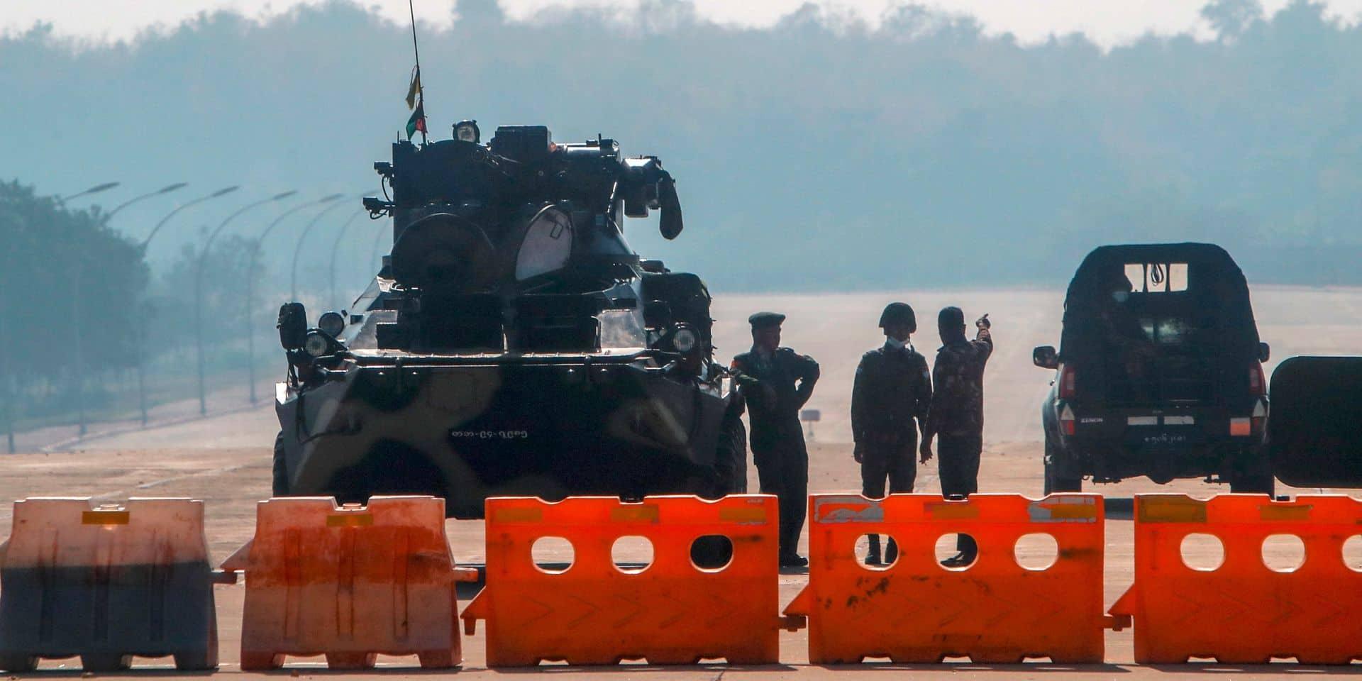 """Coup d'Etat en Birmanie: les ministres des Affaires étrangères du G7 """"profondément préoccupés"""""""