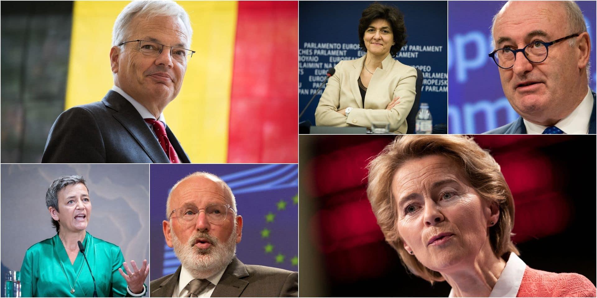 Voici le casting complet de la Commission von der Leyen: qui reçoit quel portefeuille ?