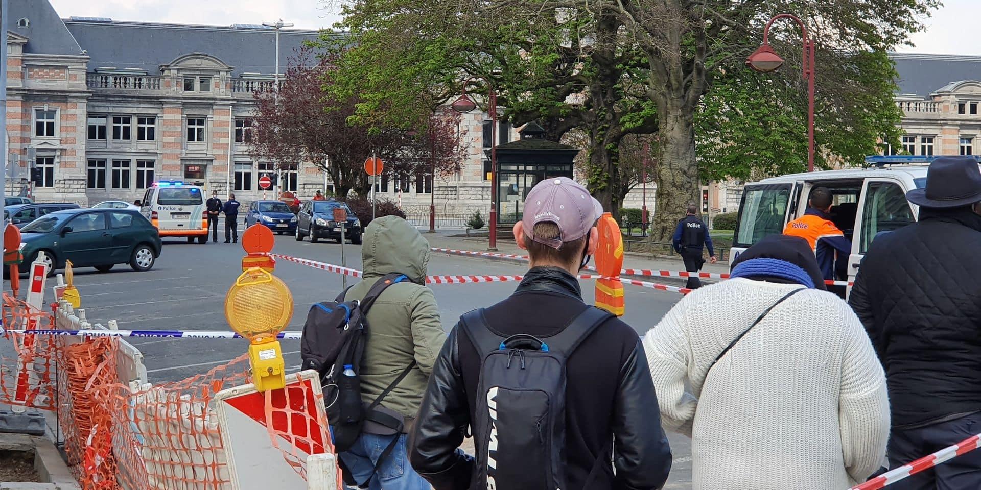 Alerte à la bombe à la gare de Tournai