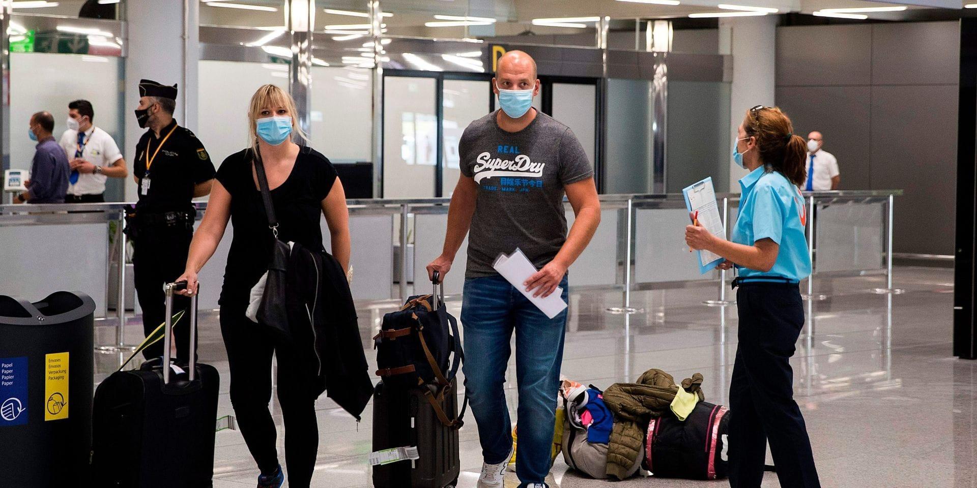 Coronavirus: Touring assistera bien les voyageurs situés dans des zones passées au code rouge