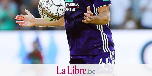 Anderlecht's Antonio Ante Milic pictured in action during the Jupiler Pro League match between KV Kortrijk and RSC Anderlecht, in Kortrijk, Saturday 28 July 2018, on the first day of the Jupiler Pro League, the Belgian soccer championship season 2018-2019. BELGA PHOTO VIRGINIE LEFOUR
