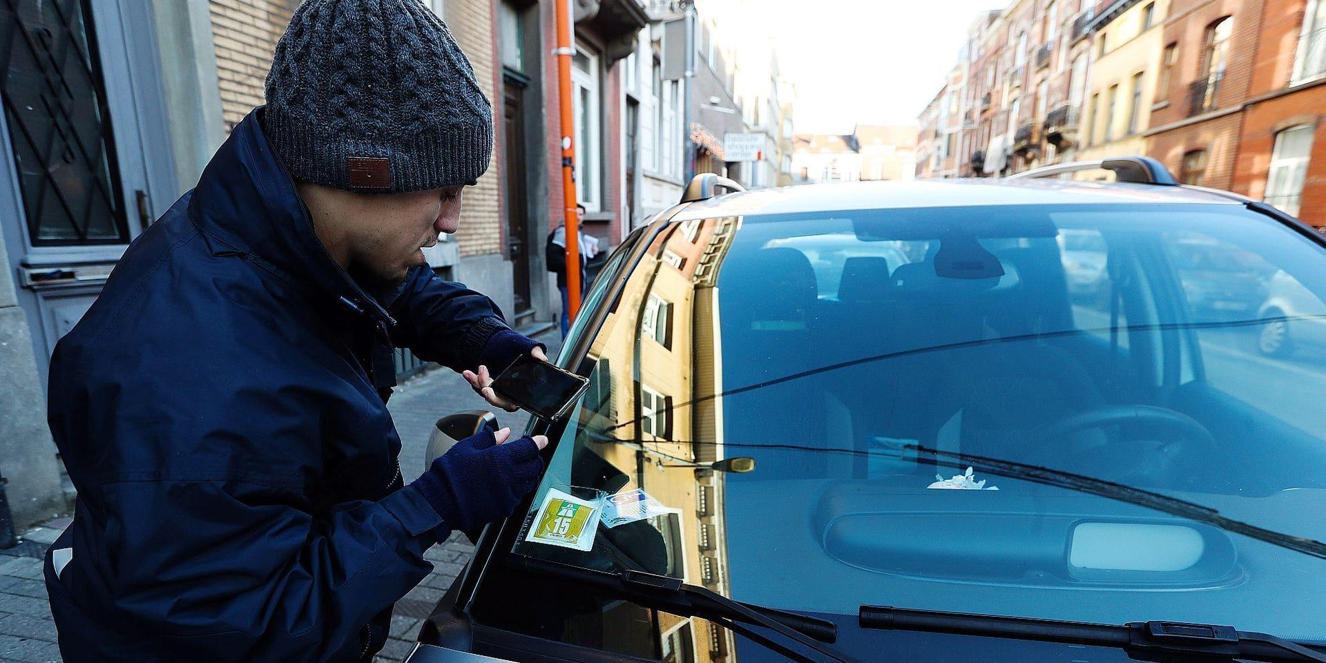 horodateur Service Parking Commune d'Uccle