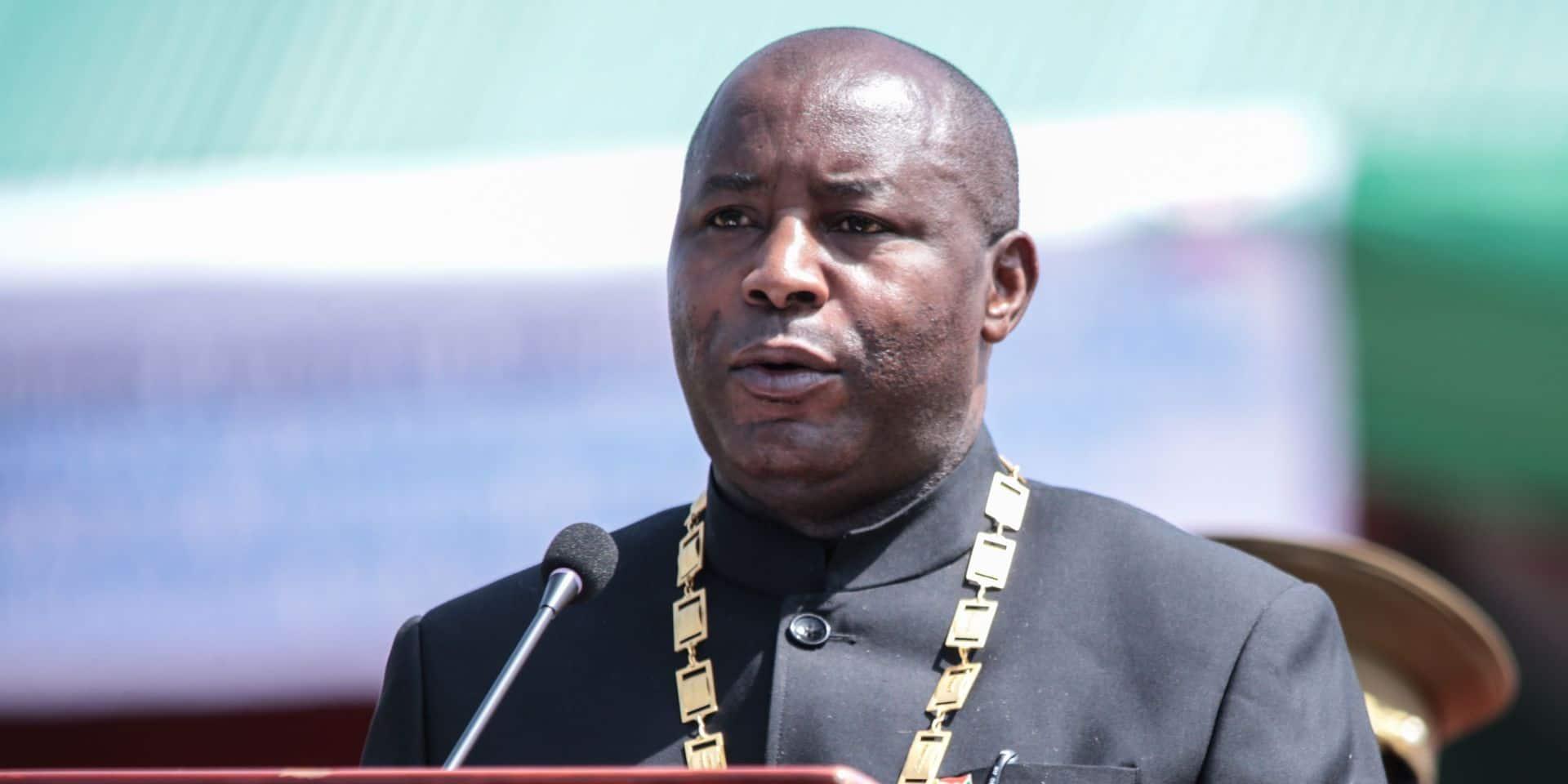Révérien Ndikuriyo remplace le général Evariste Ndayishimiye (photo), qui est président du Burundi depuis 2020.
