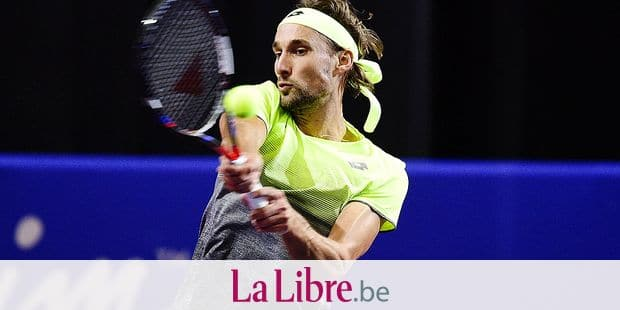 Ruben Bemelmans (Bel) TENNIS : Open Sud de France 2018 - Montpellier - 08/02/2018 © PanoramiC / PHOTO NEWS PICTURES NOT INCLUDED IN THE CONTRACTS ! only BELGIUM !