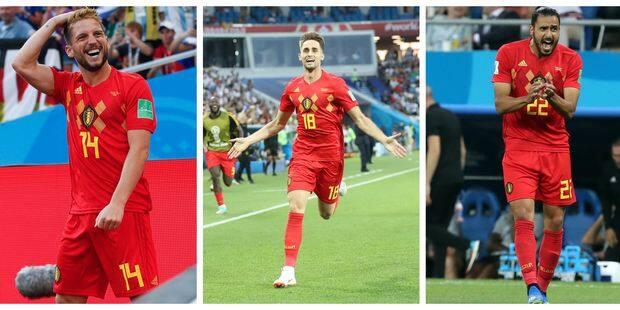 """Mondial: Mertens, Januzaj et Chadli parmi les nominés au titre de """"But du Tournoi"""" (VIDEOS) - La Libre"""