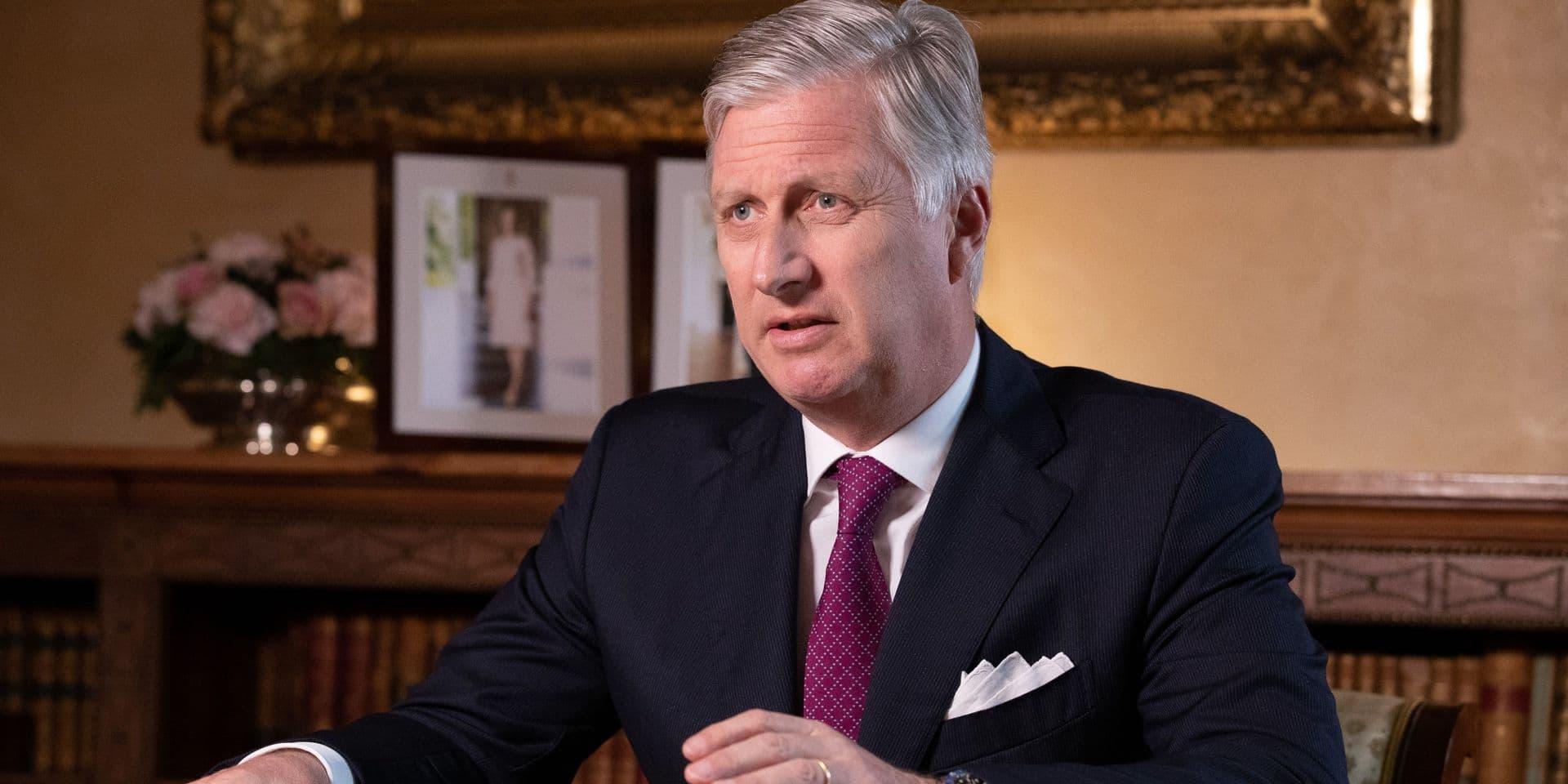 Le roi Philippe en conversation Skype avec des chercheurs de la KULeuven