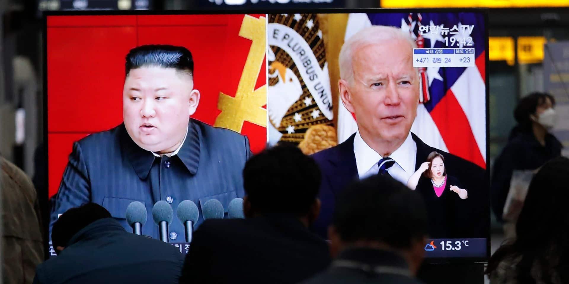 """Washington a évoqué la """"dénucléarisation"""" nord-coréenne avec Tokyo et Séoul"""