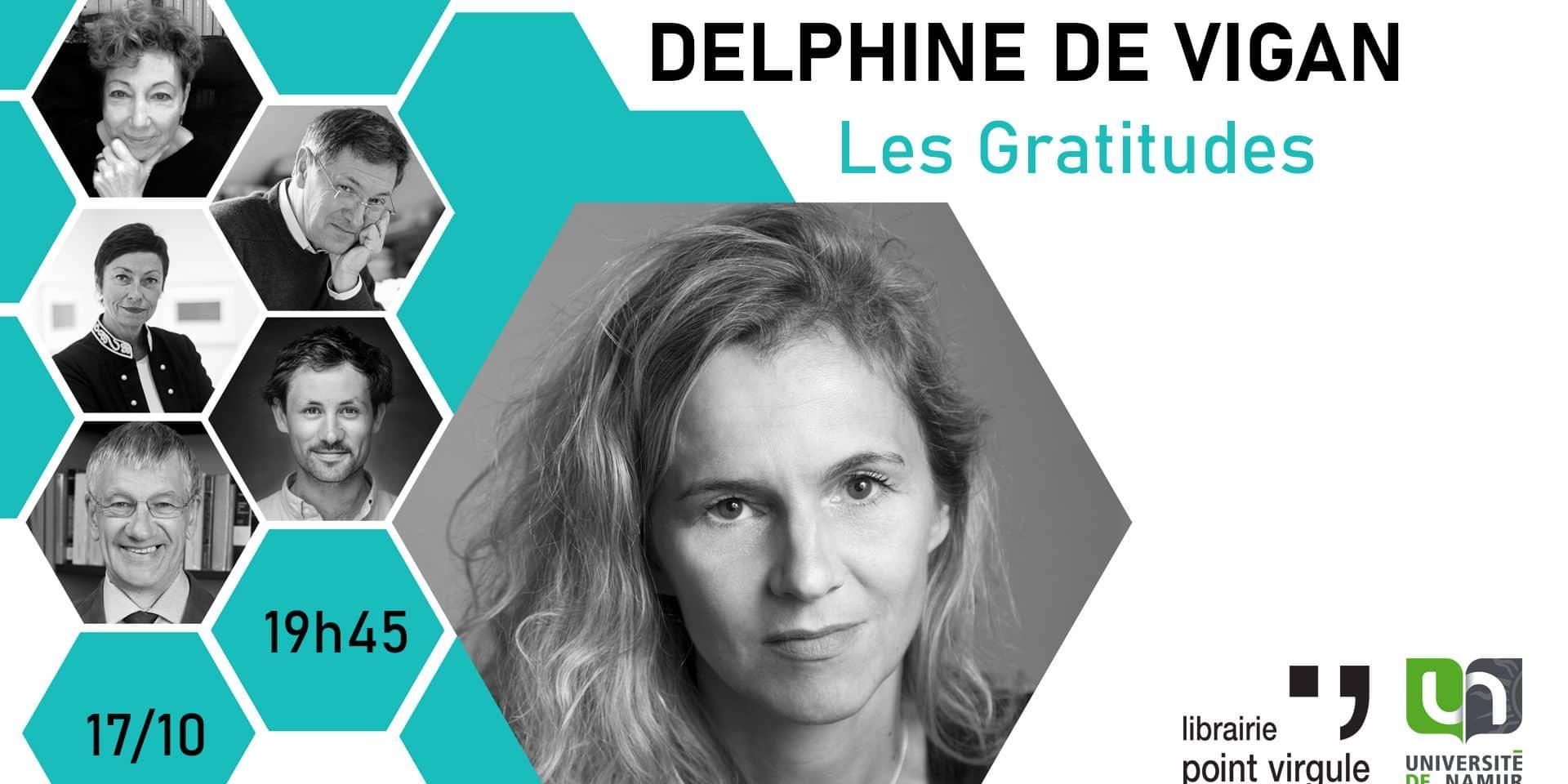 Remportez vos places pour la conférence de Delphine de Vigan