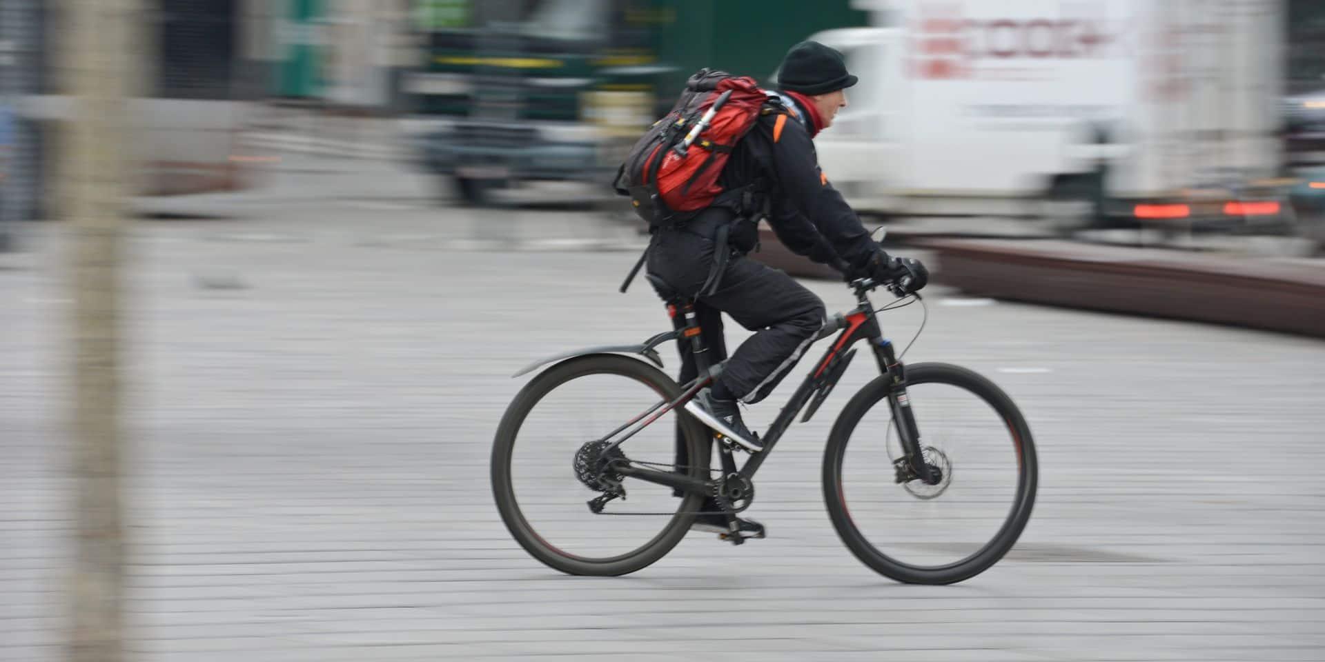 Les vélos et les bus ne sont pas les moyens de transport à privilégier à Bruxelles