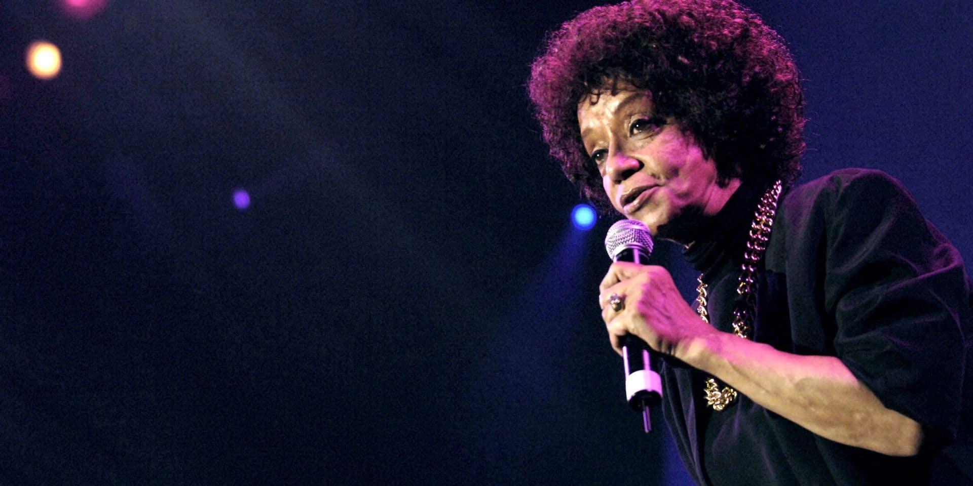 Décès à Paris de la chanteuse américaine de jazz et de soul Nancy Holloway